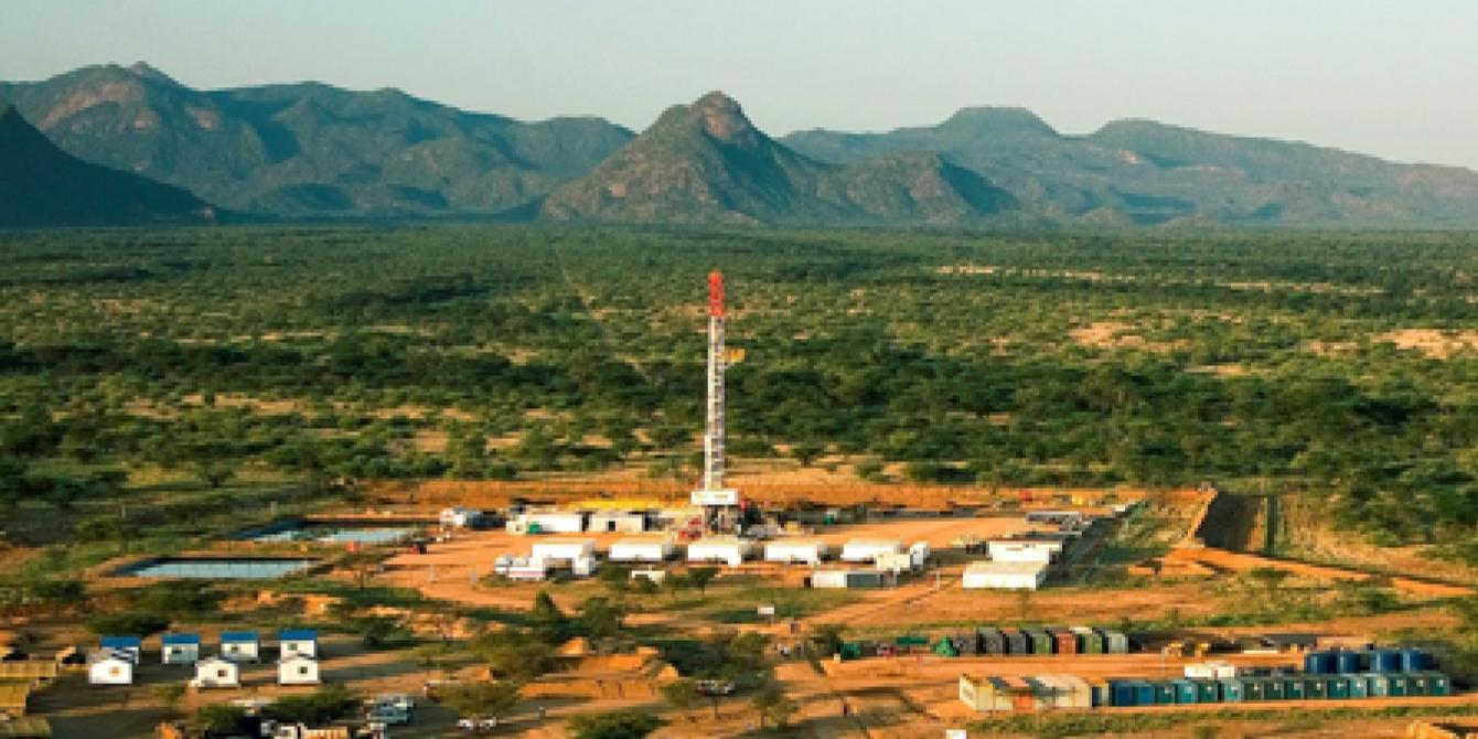 Oil rig in Turkana. Photo credit: Kenya Civil Society Platform on Oil and Gas Petroleum Revenue Report